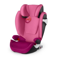 Автокресло Cybex Solution M-Fix, цвет Passion Pink-purple