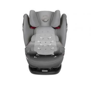 Автокресло Cybex Pallas S-fix, цвет Pepper Black dark grey
