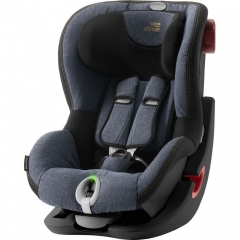 Детское автокресло Britax-Romer King II LS Black Series Blue Marble