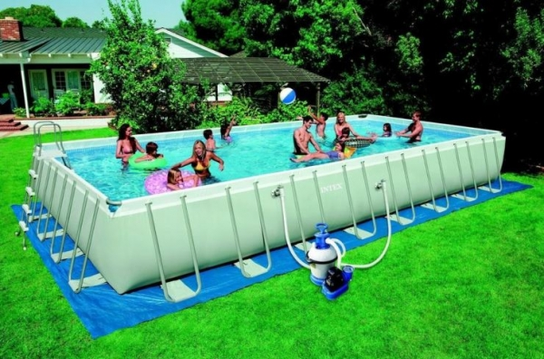 Intex 28372 - Piscina intex 549x274x132 ...
