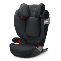 Автокресло Cybex Solution S-fix Lavastone Black-black PU2