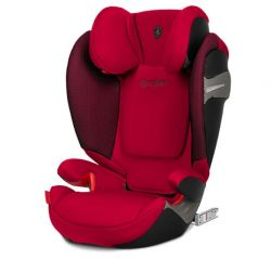 Автокресло Cybex Solution S-fix Rebel Red-red