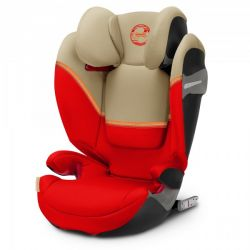Автокресло Cybex Solution S-fix Autumn Gold-burnt red PU2