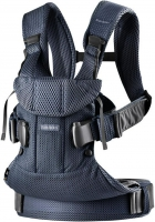 Рюкзак-кенгуру BabyBjorn One Air (от 3,5 до 15 кг), цвет Navy blue, Mesh