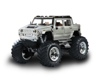 Джип микро р/у Great Wall Toys - Hummer, 1:43, серый