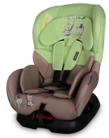 Автокресло Bertoni Concord, цвет beige&green bear swing