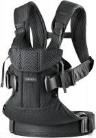 Рюкзак-кенгуру BabyBjorn One Black mesh (от 3,5 до 15 кг)