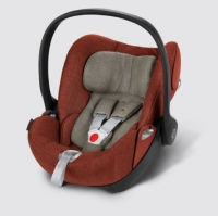 Автокресло Cybex Cloud Q PLUS, цвет Autumn Gold-burnt red