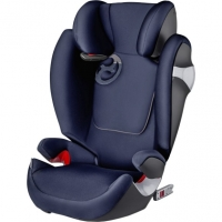 Автокресло Cybex Solution M-Fix, цвет Midnight Blue navy blue