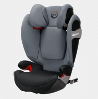 Автокресло Cybex Solution S-fix Pepper Black-dark grey PU2