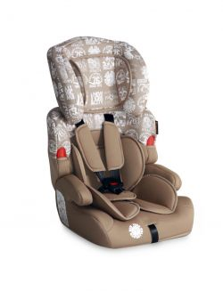 Автокресло Bertoni Kiddy, цвет dark&light beige