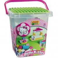"Детский конструктор Unico Plus ""Hello Kitty-Secchio Grande"""