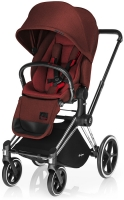 Прогулочная коляска Cybex Priam Lux, цвет Mars Red-red
