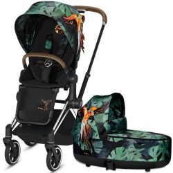 Коляска 2 в 1 Cybex Priam Lux Birds of Paradise
