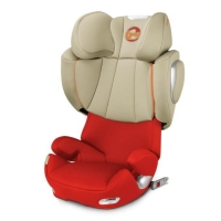Автокресло Cybex Solution Q3-fix, цвет Autumn Gold-burnt red