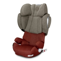 Автокресло Cybex Solution Q3-fix Plus, цвет Autumn Gold-burnt red