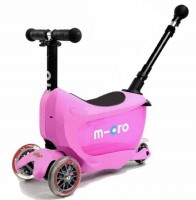 Самокат Mini Micro 2go Deluxe Plus Pink