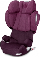 Автокресло Cybex Solution Q3-fix Plus, цвет Mystic Pink-purple