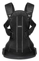 Рюкзак-кенгуру BabyBjorn We Air Mesh Black