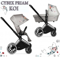 Коляска Cybex Priam Lux Koi mid grey 2 в 1