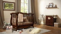 Детская кроватка Baby Italia Andrea VIP antique walnut