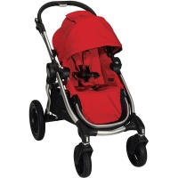 Baby Jogger City Select прогулочная коляска, цвет Ruby silver frame