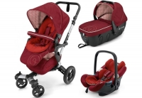 Коляска 3 в 1 Concord Neo Travel Set, цвет Tomato Red