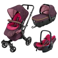 Коляска 3 в 1 Concord Neo Travel Set, цвет Rose Pink