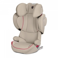 Автокресло Cybex Solution Z-Fix for Scuderia Ferrari Silver Grey light grey