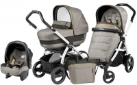Коляска 3 в 1 Peg Perego Elite Luxe Grey