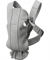 Рюкзак-кенгуру BabyBjorn Carrier Mini Dark grey 3D, Jersey