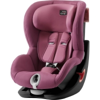 Детское автокресло Britax-Romer King II Black Series Wine Rose
