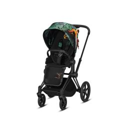 Прогулочная коляска Cybex Priam Lux Fashion Edition Birds of Paradise