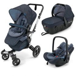 Коляска 3 в 1 Concord Neo Travel Set, цвет Deep Water Blue