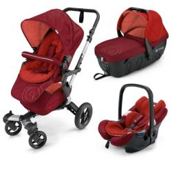 Коляска 3 в 1 Concord Neo Travel Set, цвет Flamingo Red