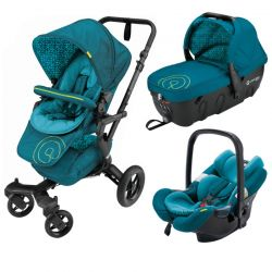 Коляска 3 в 1 Concord Neo Travel Set, цвет Scuba Green