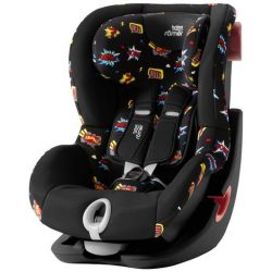 Детское автокресло Britax-Romer King II Black Series Comic Fun