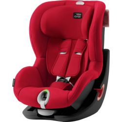 Детское автокресло Britax-Romer King II Black Fire Red