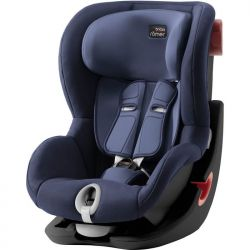 Детское автокресло Britax-Romer King II Black Moonlight Blue