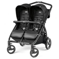 Peg-Perego Book for Two коляска для двойни, цвет Class Black