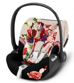 Автокресло Cybex Cloud Z i-Size Spring Blossom Light