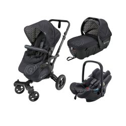 Коляска 3 в 1 Concord Neo Travel Set, цвет Cosmic Black