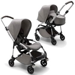 Коляска 2 в 1 Bugaboo Bee5 Mineral Collection Light Grey
